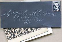 Wedding calligraphy / by Amanda ice