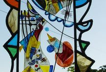 Milena Sekyt, Hand-made stained glass