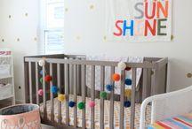 Kropki w pokoju dziecka / Kropkowa dekoracja pokoju dziecięcego