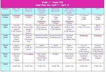 eatting schedule