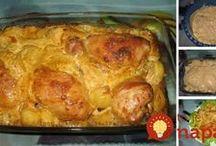 chrumkave kurca so zemiakmi