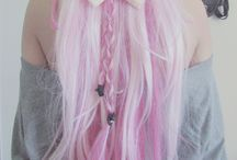 Hairstyle&colors / Hair is precious, hair is boring.  Inspiring, beautiful, cool style/colors i like.