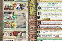 Scrapbooking layout ideas / by Suzanne Ross