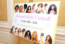 N.G.U. Events / Events where Karen Byrd, artist at Natural Girls United was able to showcase her dolls.