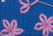 Embroidery ideas / Ideas for embroidery designs on knitting pieces and sewing items. / by Carol Coleman