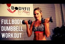 strength cardio workout video / strength training at home