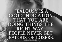 The Love Quotes Jealousy Quotes : Wow now that's what I call kick ass attitude towards jealous people….