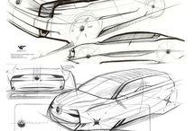 Car Line Sketch