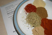 Recipes - Spices/Condiments