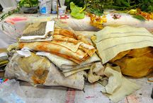 Dyeing Fabric & Paper