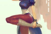 Street Fighter - Mortal Kombat - Tekken Game & Animations & Ar / Street Fighter - Mortal Kombat - Tekken Game & Animations & Art