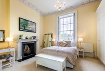 8 Lansdown Cresent / This charming upper floor apartment offers stunning restored period features inside and out, with its soaring ceilings, grand pillars, marble mantelpiece and regency ambience.