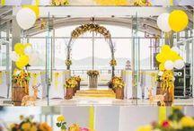 Sunflowers wedding party ideas