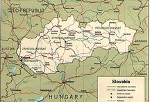 maps slovakia