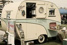 Vintage Camper Love / Vintage camper trailers, tin cans and airstreams have my heart, dreams and soul.