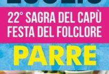 Festa Del Folclore e Sagra Del Capu' 29-30-31 Luglio Parre (BG)