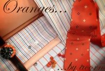 Orange Shirting Fabrics / Orange shirting fabrics from Acorn Fabrics