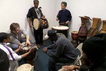 Foluke Drumming / Drumming and Drum repair classes at Foluke Cultural Arts Center