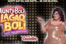 'Aunty Boli Lagao Boli' Game Show on Colors Wiki,Host,Timing,Chasebid app