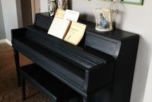 Chalk Paint Piano's