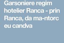Garsoniere regim hotelier Ranca