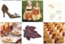 Fall Wedding Ideas / Fall Wedding Ideas DesignCorral.com / by Design Corral