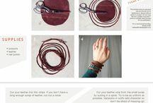 Leather Goods / Beautiful leather jewellery ❤️