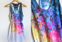 Vestido De Teñido Tie-dye