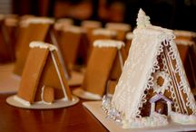 Gingerbread houses & icing / Gingerbread house & icing