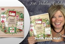 2016 Stampin Up Holiday Catalog / Project ideas and video tutorials from the Stampin Up 2016 Holiday Catalog. For more info, to order these products and to receive a free catalog: http://stampwithtami.com/blog/category/projects-by-catalog/2016-holiday-catalog/