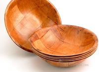Wooden salad bowls / by Colette Godbout
