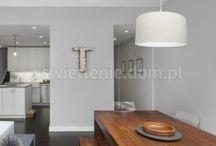 Lampy nad stół / Duże lampy wiszące do kuchni nad stół lub salonu