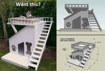 Amazing Dog Houses / We love amazing dog houses! Whether you are looking for dog house diy, plans, or amazing outdoor dog houses, we got you covered.