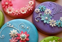 Cookies and Bar Cookies / Totally Decorated Cookies.  Also recipes and bar coolies like brownies. / by Deva Kolb