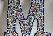 Mosaic letters / numbers