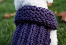 KNIT AND CROCHET DOG JACKETS