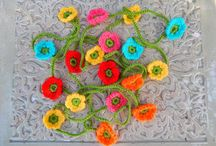 crochet ( my work ) / crochet flowers