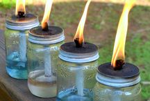 upcycle candle jars / by Christina Thrasher