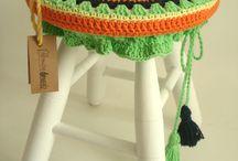 Crochet banquitos