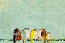 птички / birdies