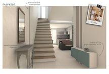 Spazio MODERNvintage :: il soggiorno di Luana / Progetto di architettura di Interni di Spazio 14 10