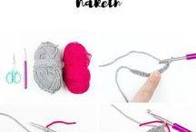 stricken und häkeln
