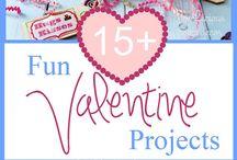 Valentin nap / Dekorációs ötletek, játékok, ajándékok.