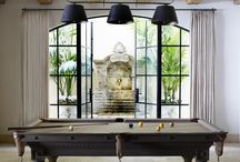 Billiards / We're loving these stylish game rooms that prove billiards can be chic.