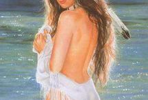 indiani Beautiful artist Maija !!!