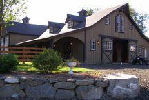 Horse farm / Barns, tack Rooms,