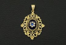 14K Solid Gold Pendant