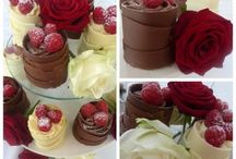 chocolate cake finish ideas