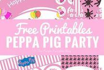 Hallie's 2nd Birthday Peppa Pig Party