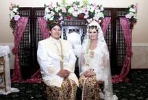 Traditional wedding / Javanese wedding
